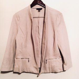 • new alfani tan textured blazer •